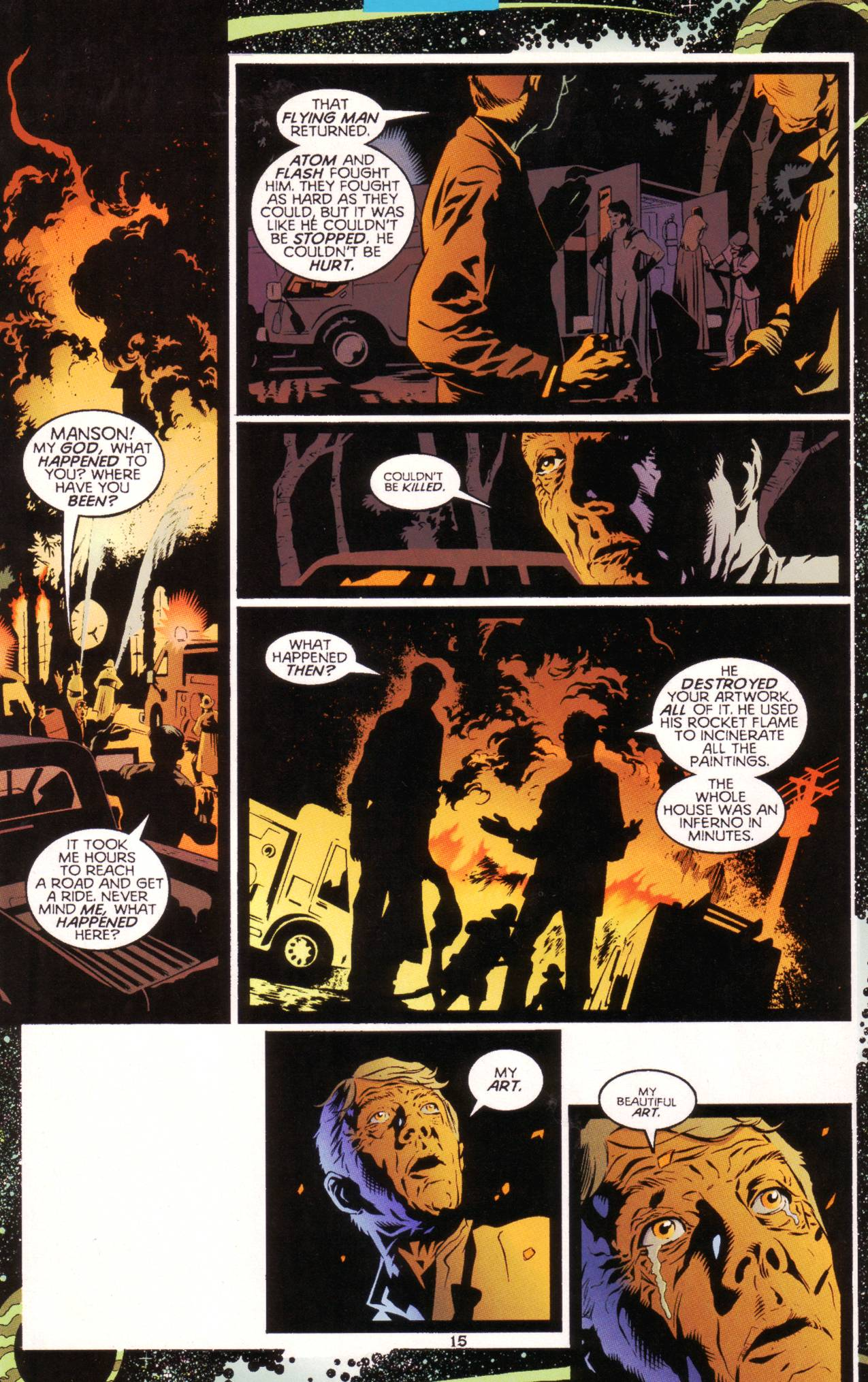 Read online Tangent Comics/ Green Lantern comic -  Issue # Full - 16