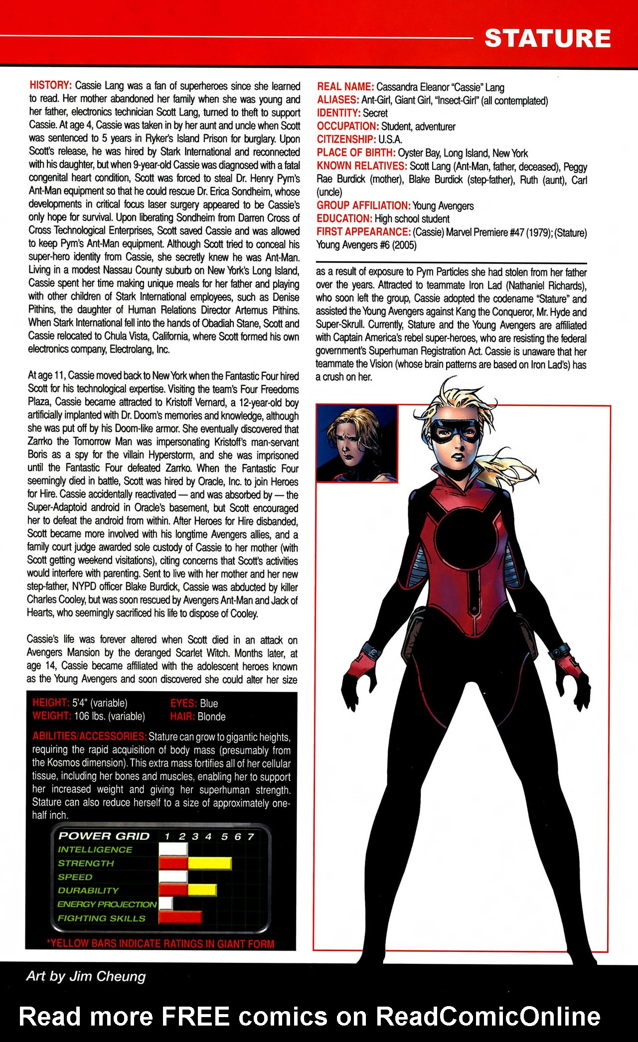 Read online All-New Official Handbook of the Marvel Universe A to Z comic -  Issue #10 - 59