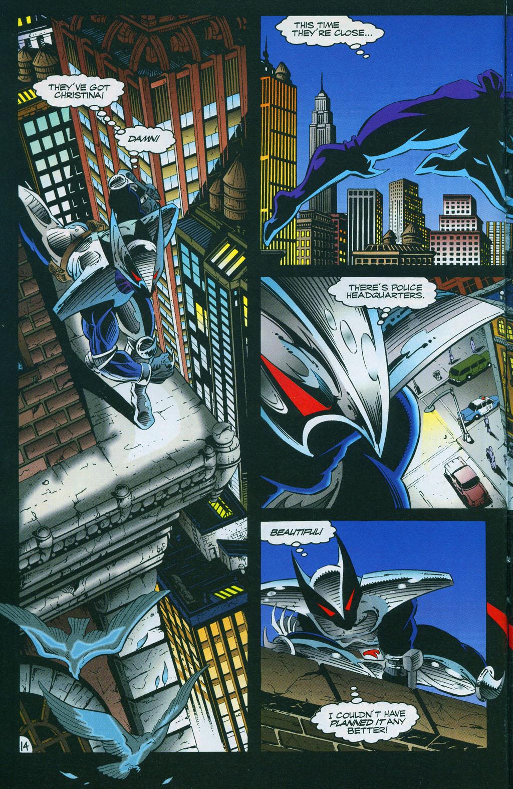 Read online ShadowHawk comic -  Issue #7 - 19