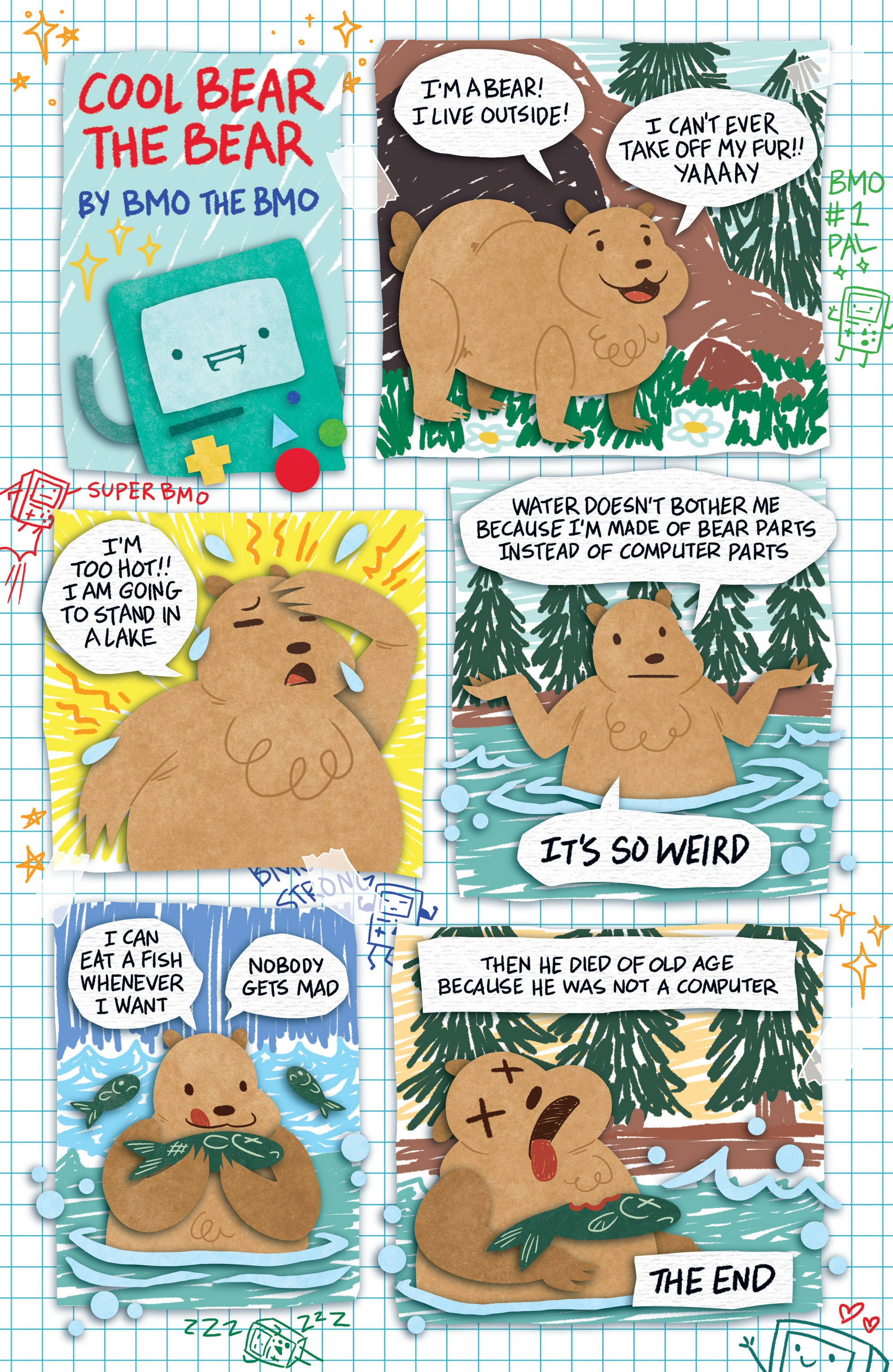 Read online Adventure Time comic -  Issue #30 - 5