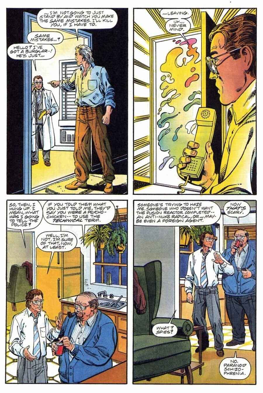 Read online Solar, Man of the Atom comic -  Issue #1 - 34