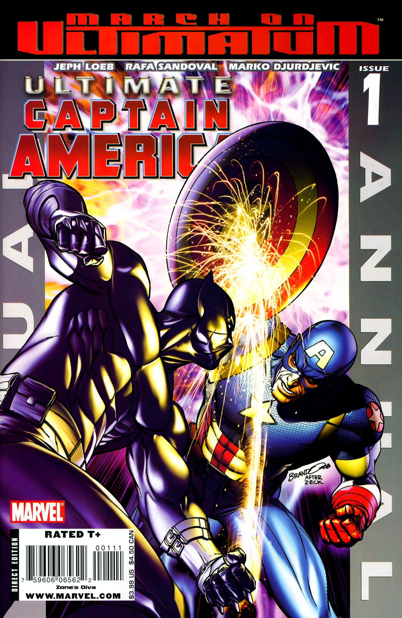 Read online Ultimate Captain America (2008) comic -  Issue # Full - 1