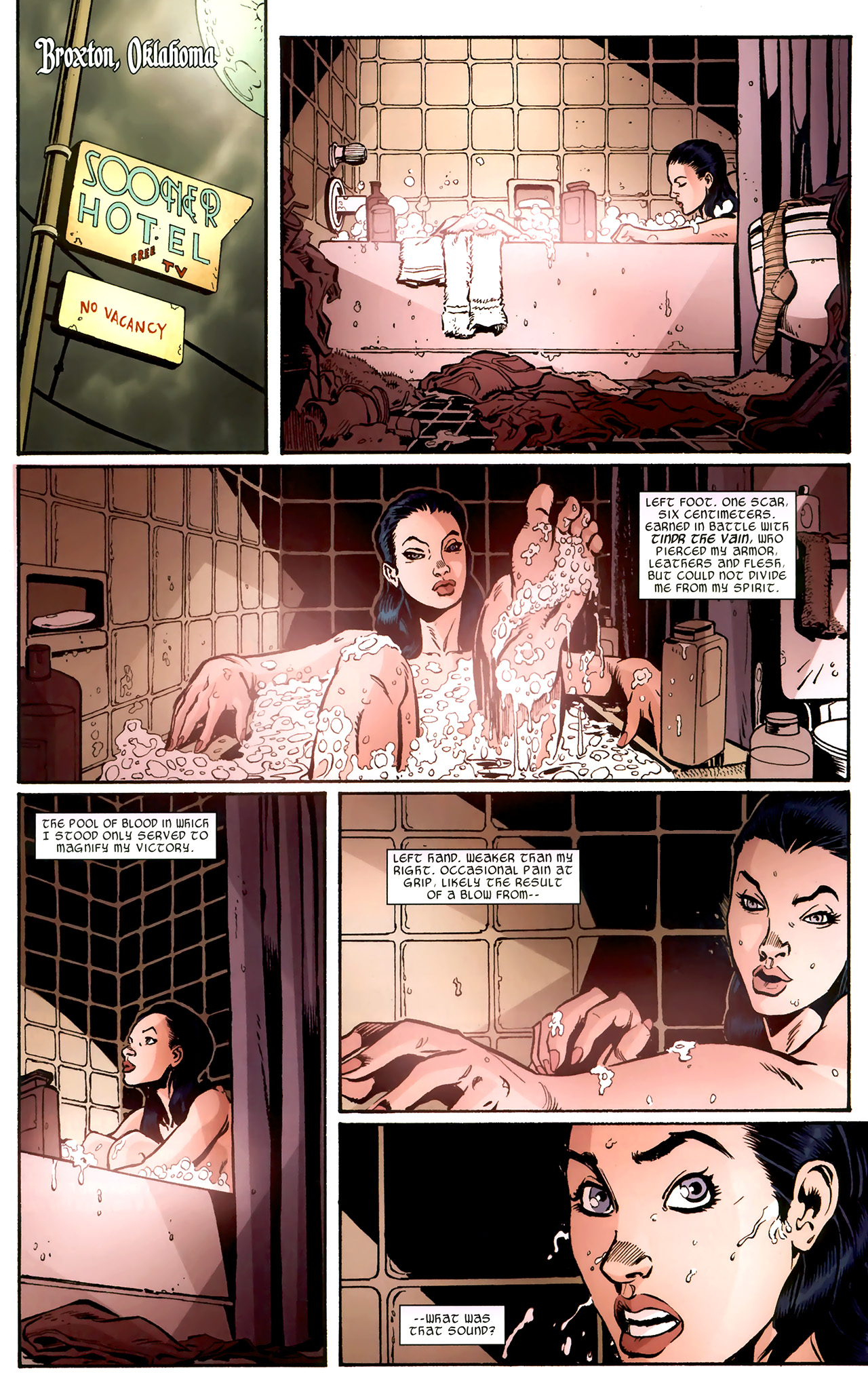 Read online Sif comic -  Issue # Full - 3