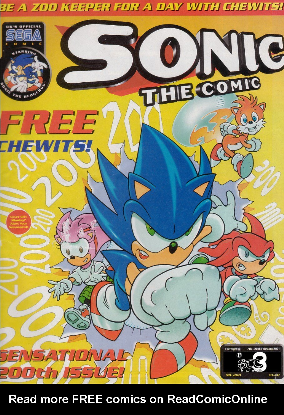 Read online Sonic the Comic comic -  Issue #200 - 1