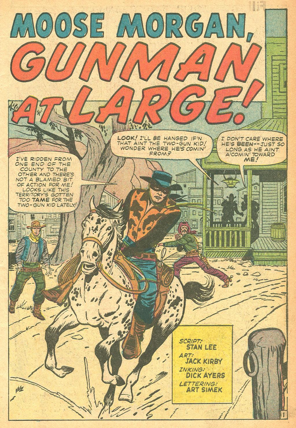 Read online Two-Gun Kid comic -  Issue #62 - 3