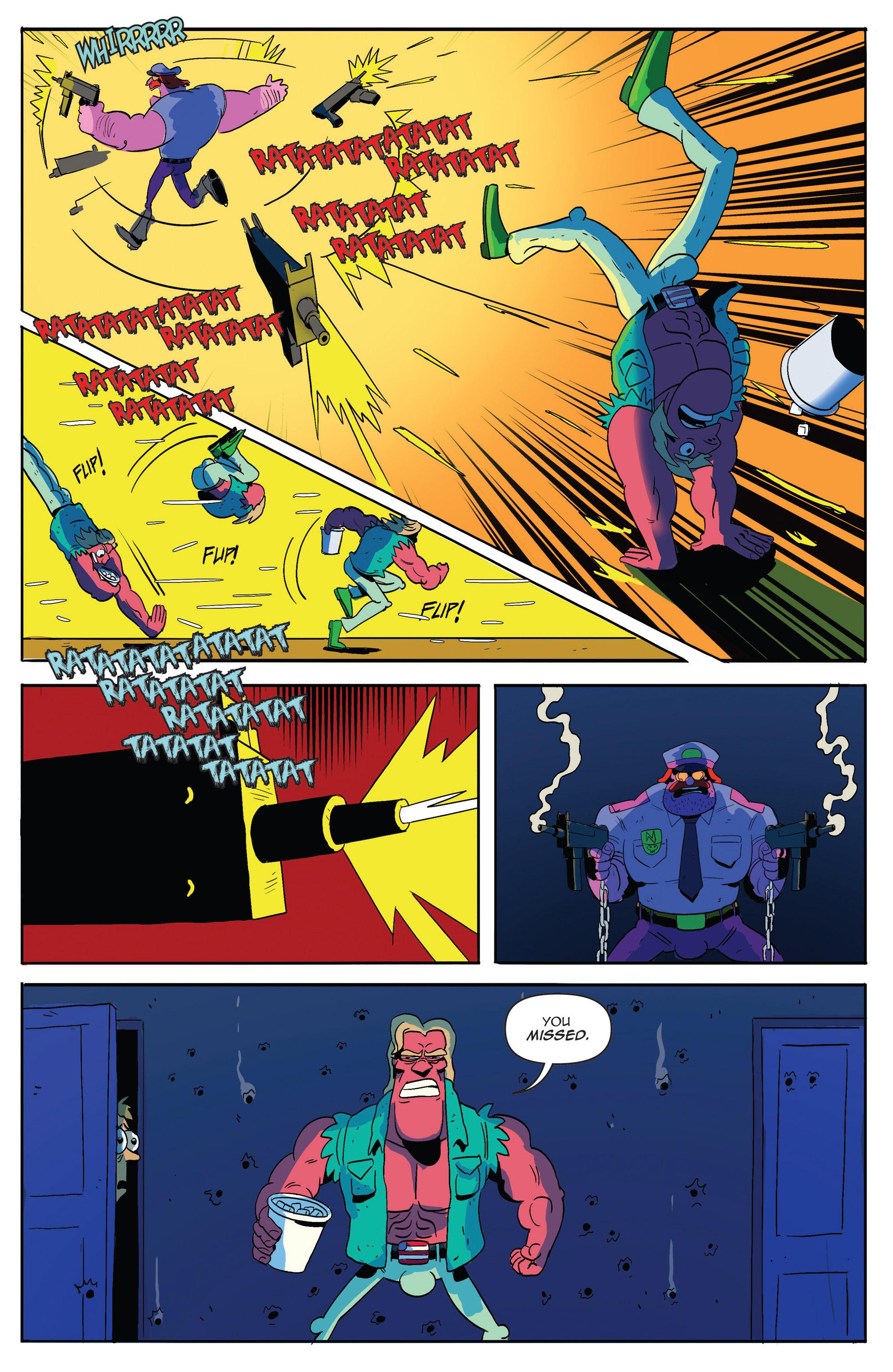 Read online AmeriKarate comic -  Issue #2 - 22