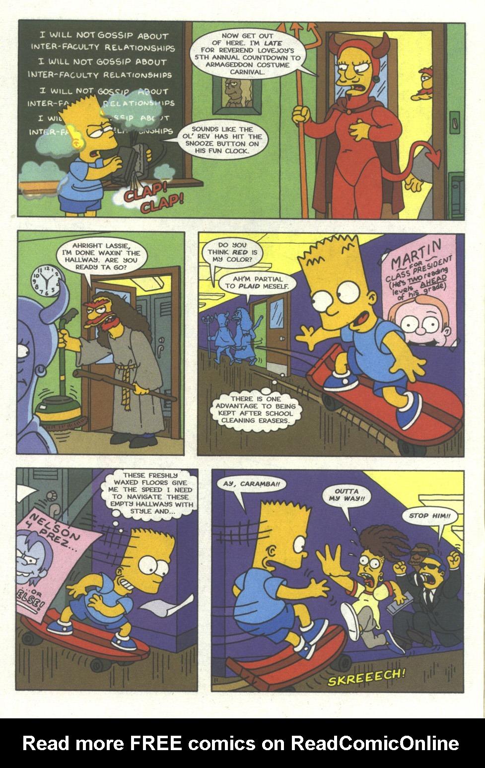 Read online Simpsons Comics comic -  Issue #23 - 3