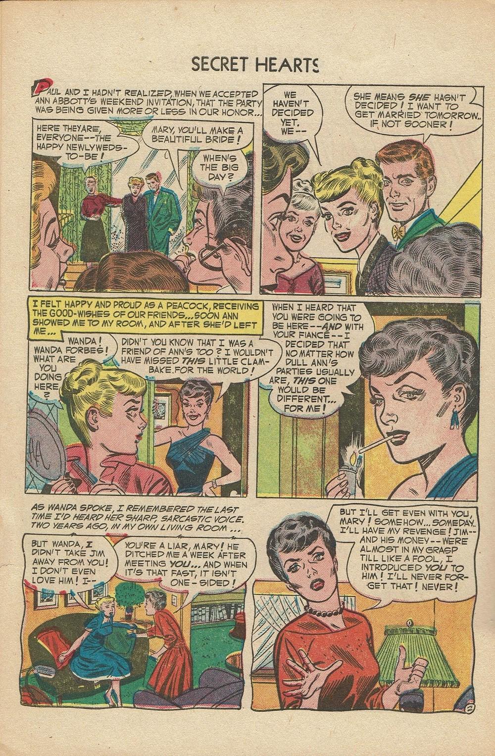 Read online Secret Hearts comic -  Issue #14 - 28
