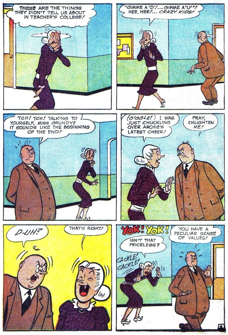 Read online Archie (1960) comic -  Issue #144 - 4