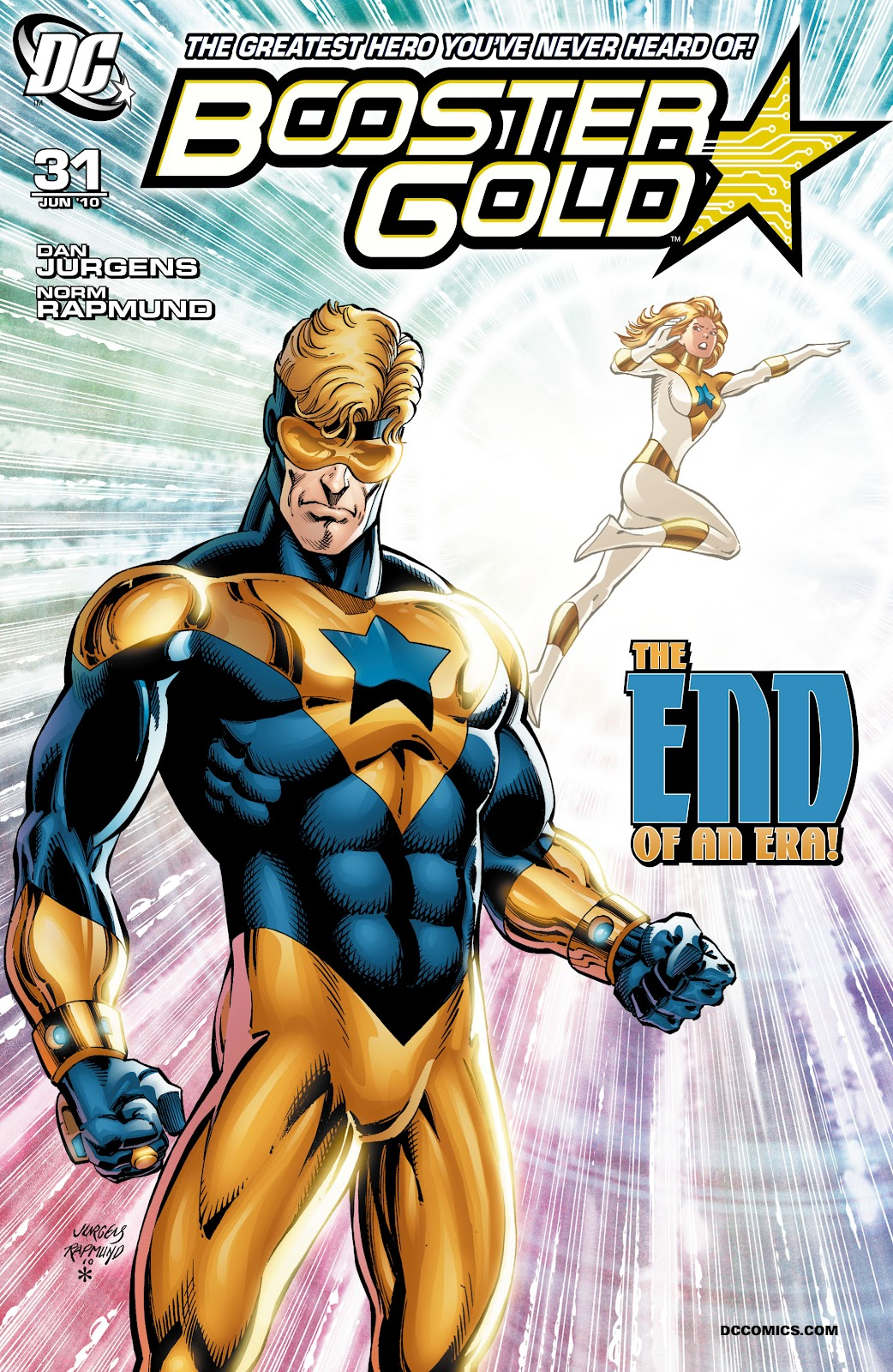 Booster Gold (2007) issue 31 - Page 1