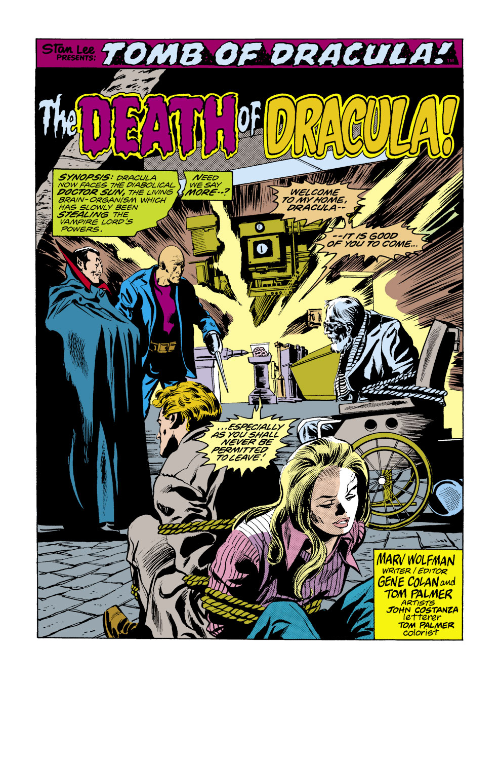 Tomb of Dracula (1972) issue 39 - Page 2