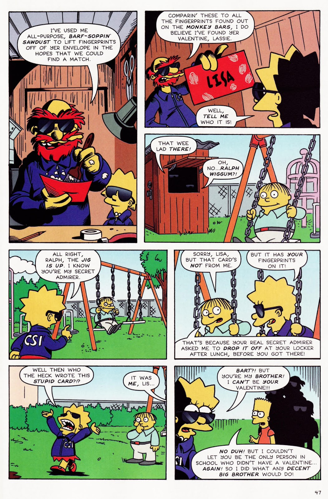 Read online The Simpsons Winter Wingding comic -  Issue #2 - 48