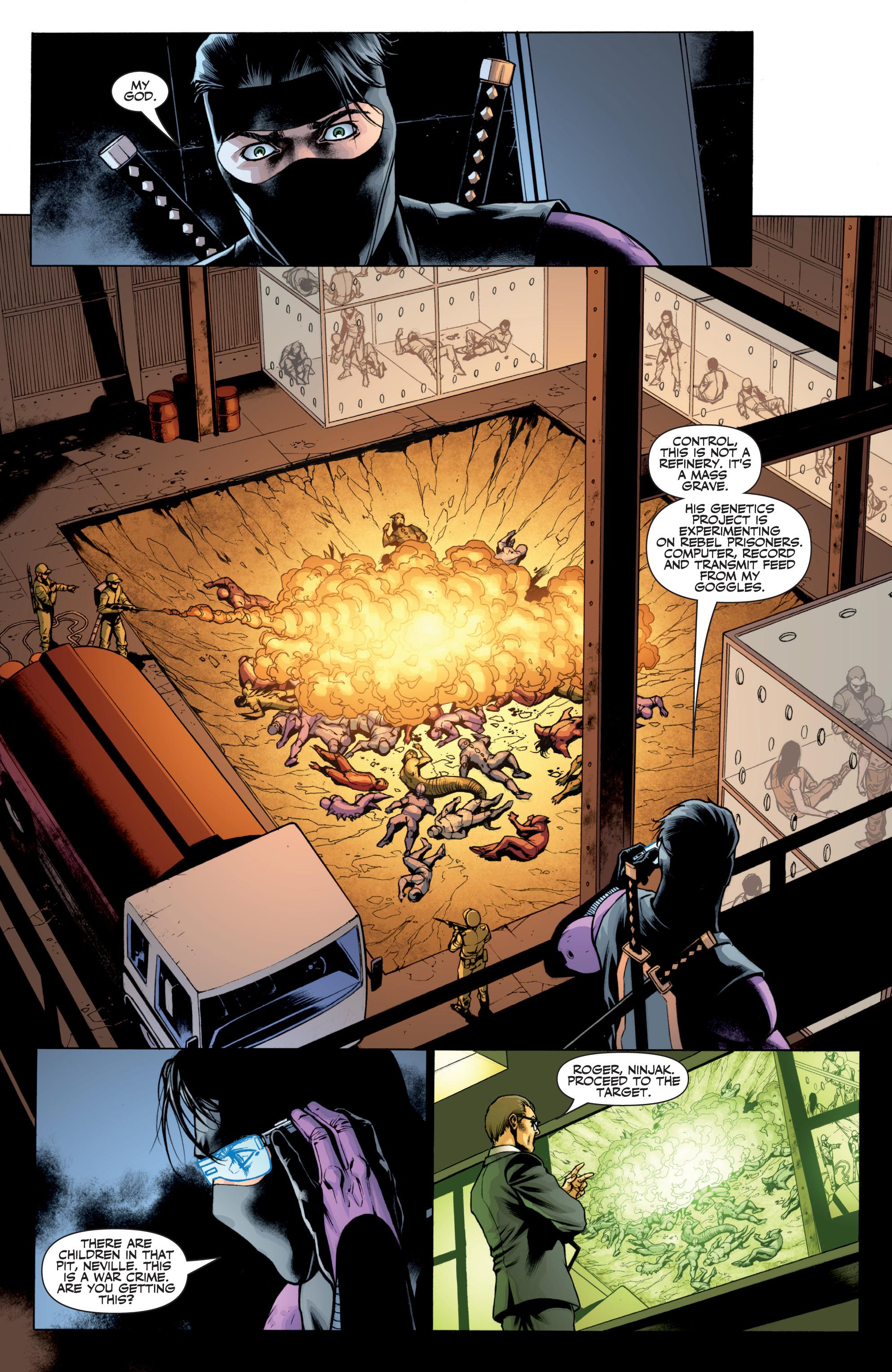 Read online Ninjak (2015) comic -  Issue #27 - 9