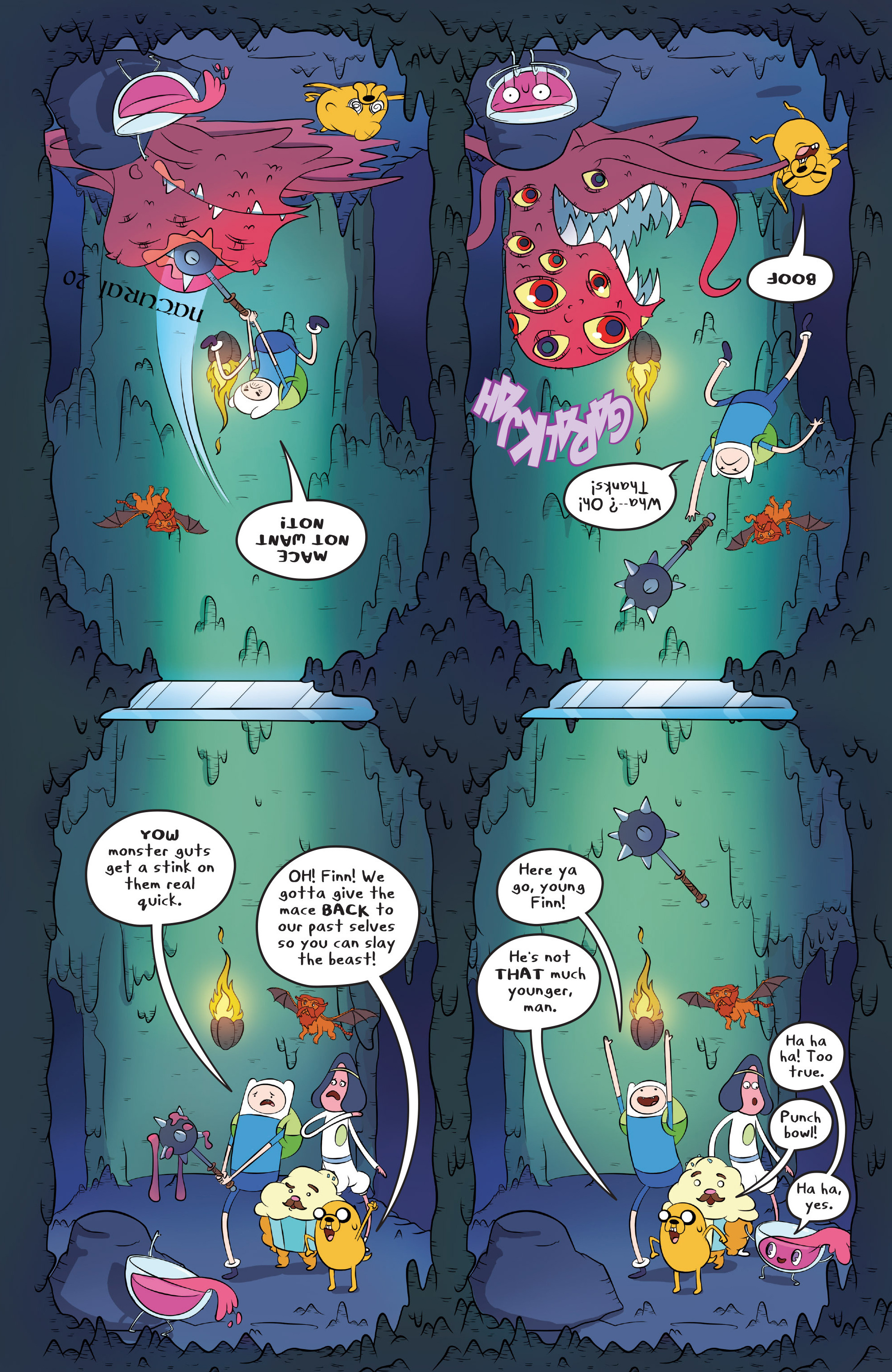 Read online Adventure Time comic -  Issue #45 - 21