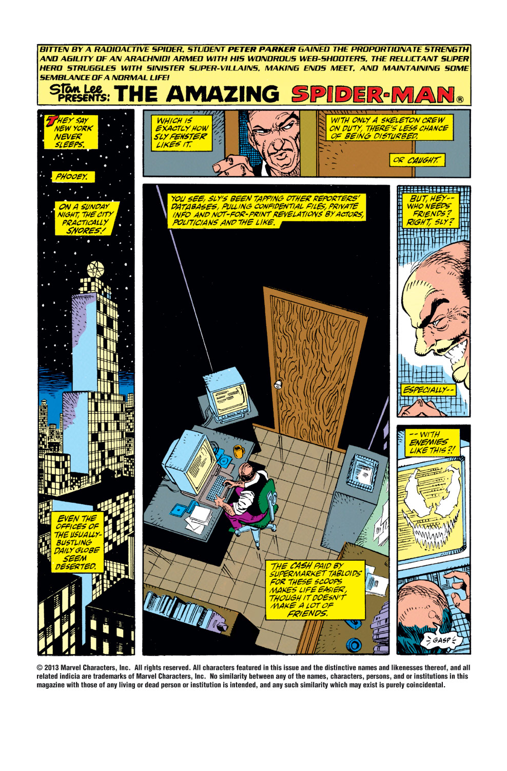 The Amazing Spider-Man (1963) 346 Page 1