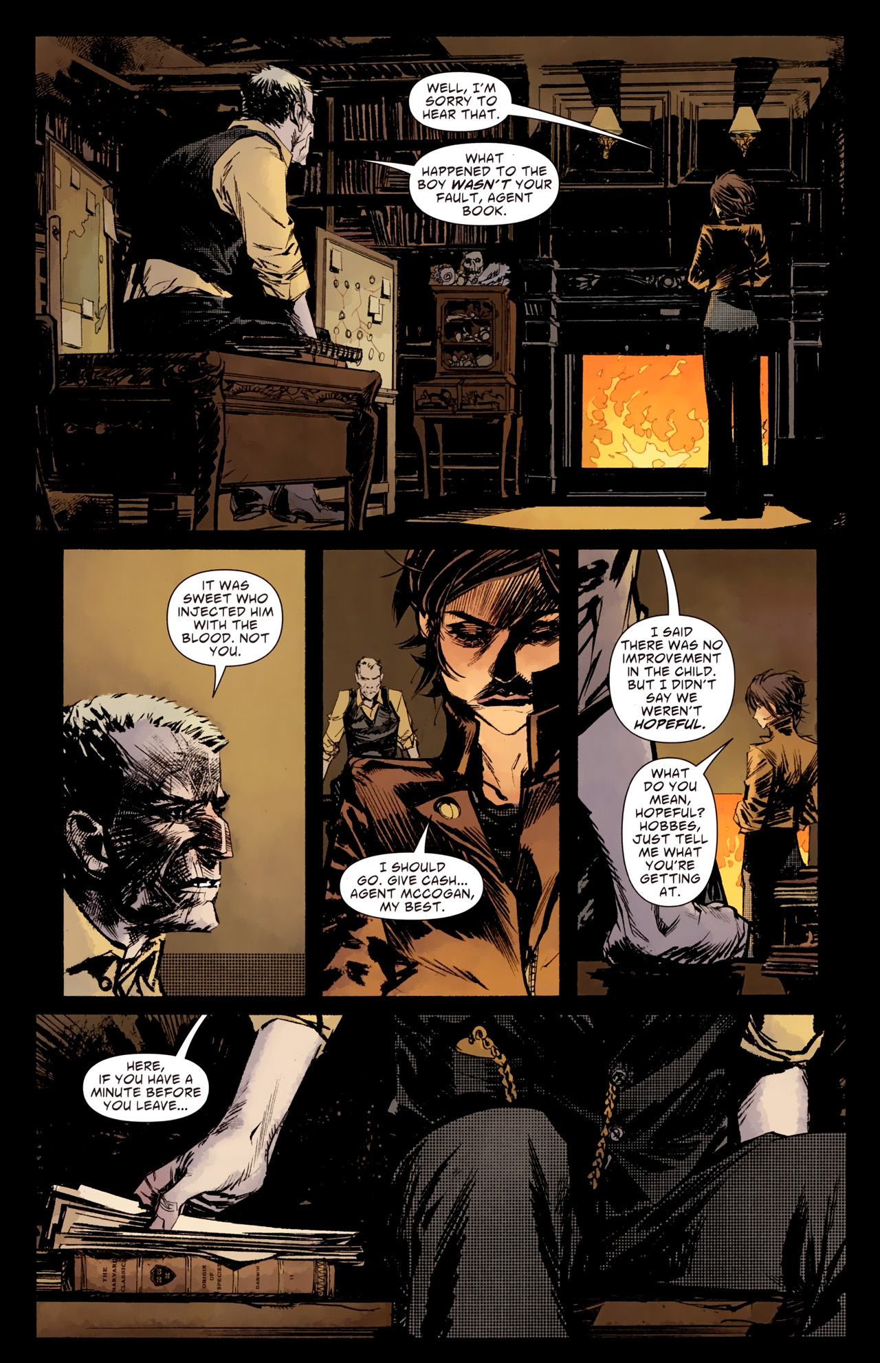 Read online American Vampire: Survival of the Fittest comic -  Issue #1 - 17