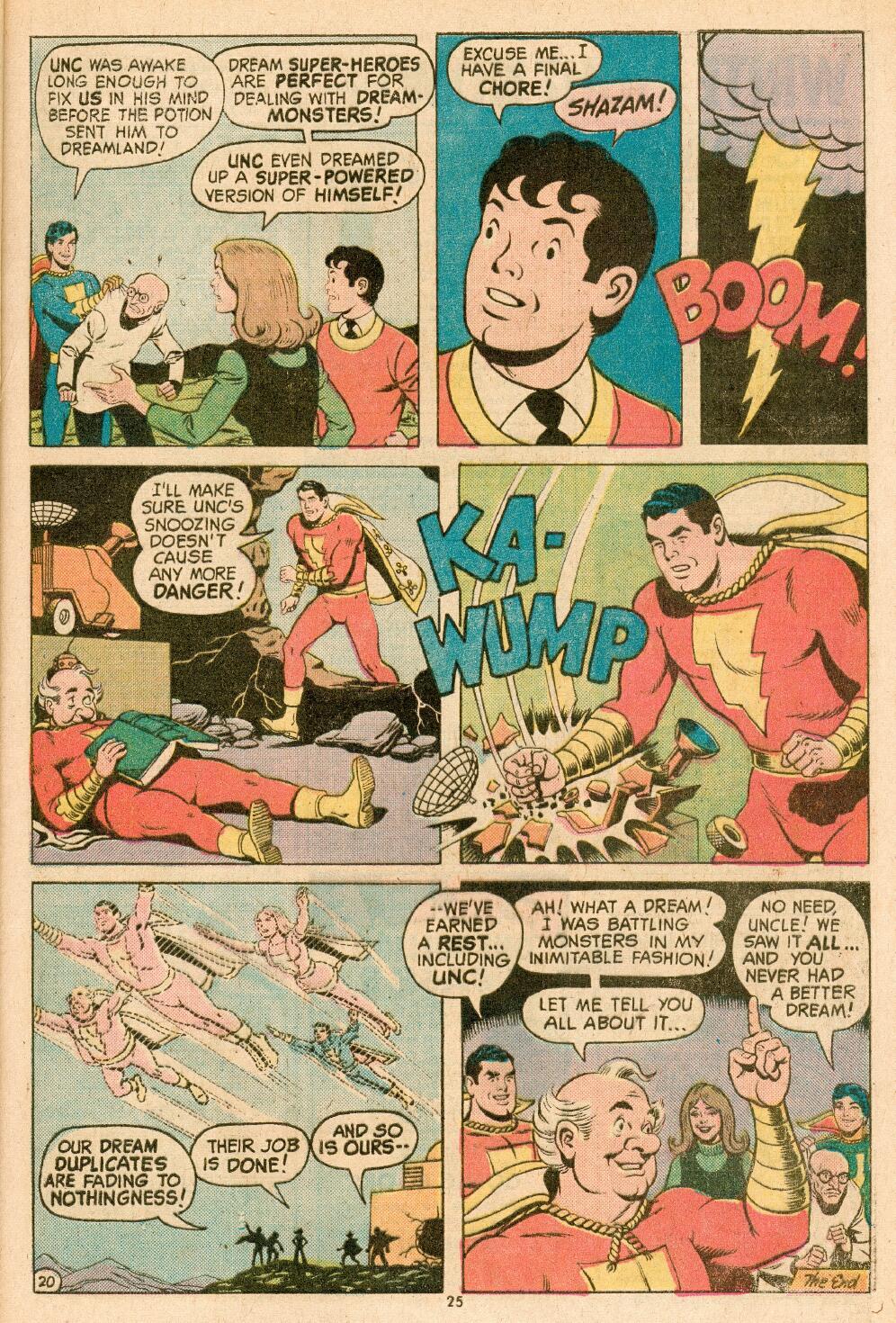 Read online Shazam! (1973) comic -  Issue #14 - 22