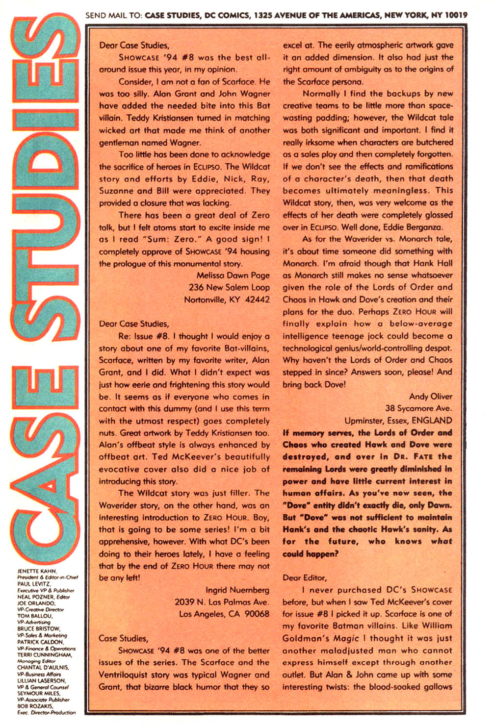 Read online Showcase '94 comic -  Issue #12 - 40