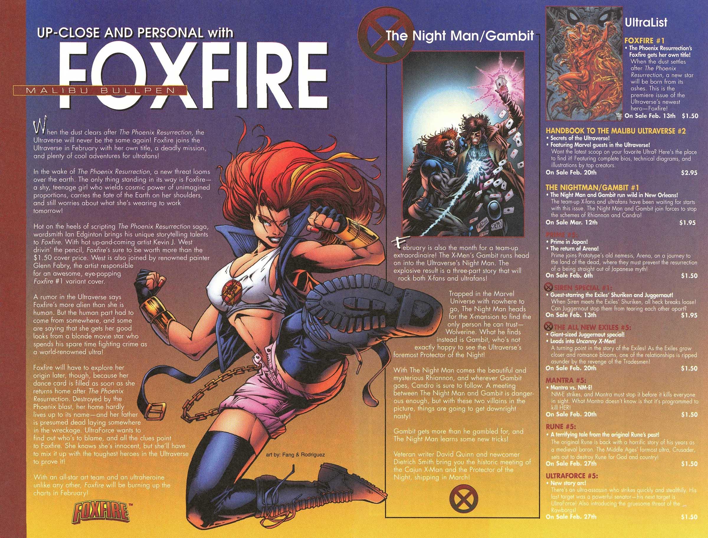 Read online UltraForce (1995) comic -  Issue #5 - 12