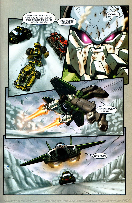 Read online Transformers Armada comic -  Issue #12 - 17