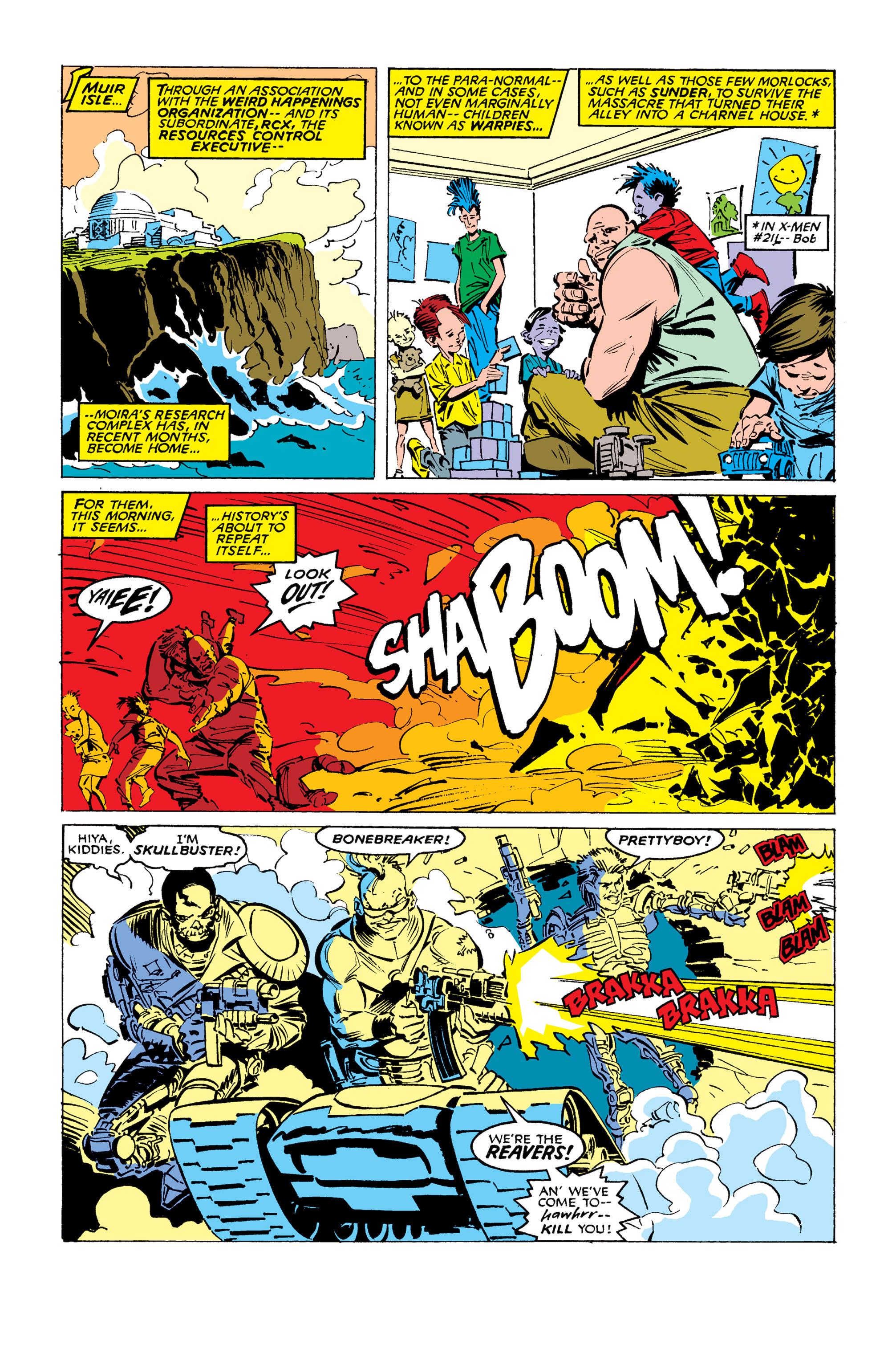 Read online Uncanny X-Men (1963) comic -  Issue #254 - 12