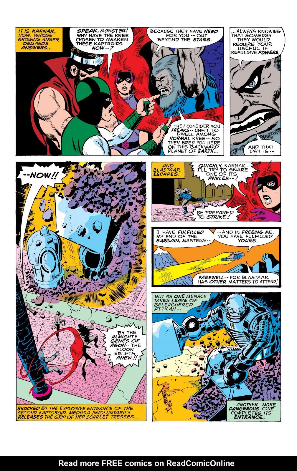Read online Marvel Masterworks: The Inhumans comic -  Issue # TPB 2 (Part 1) - 39