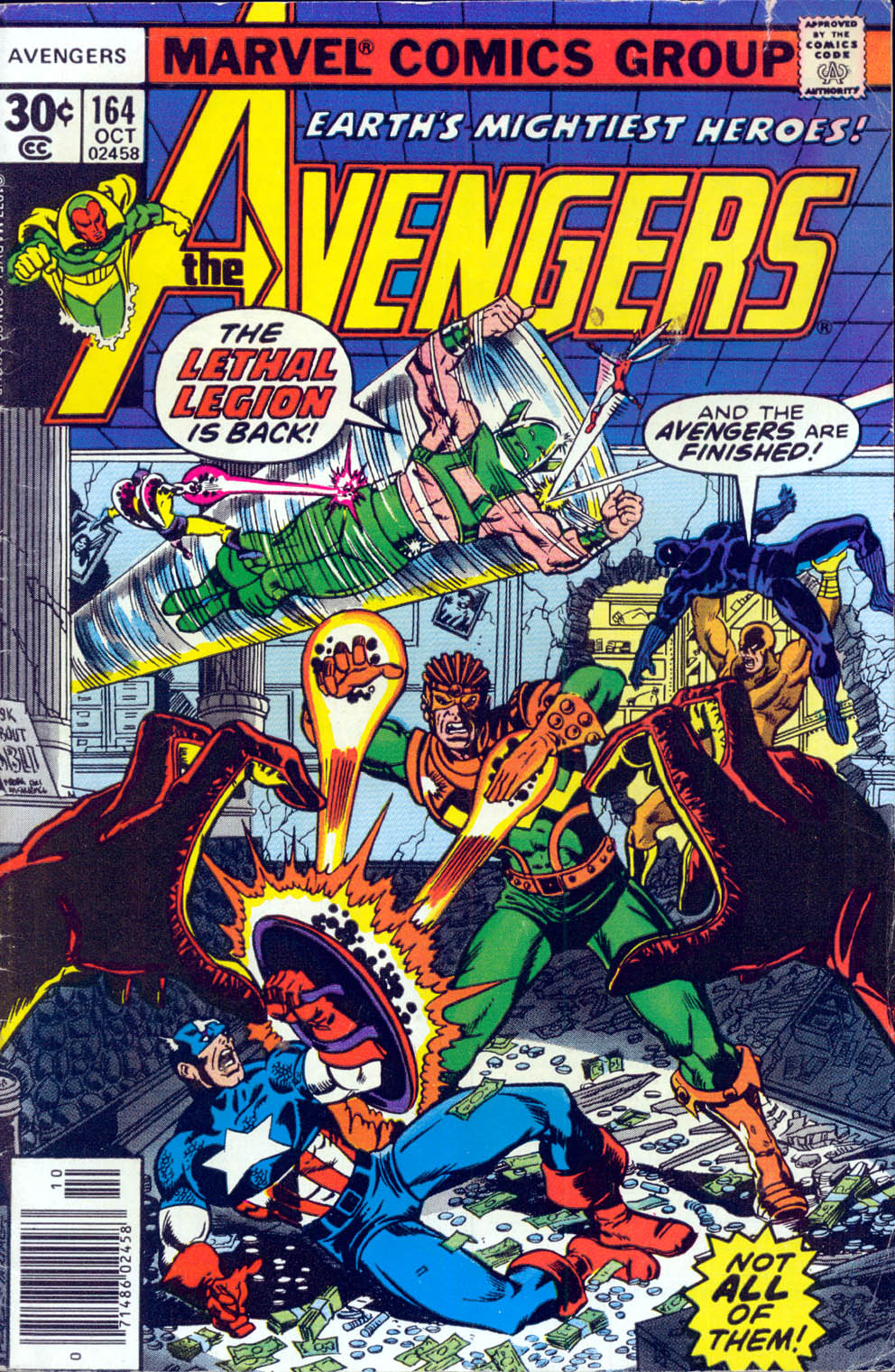 The Avengers (1963) 164 Page 0