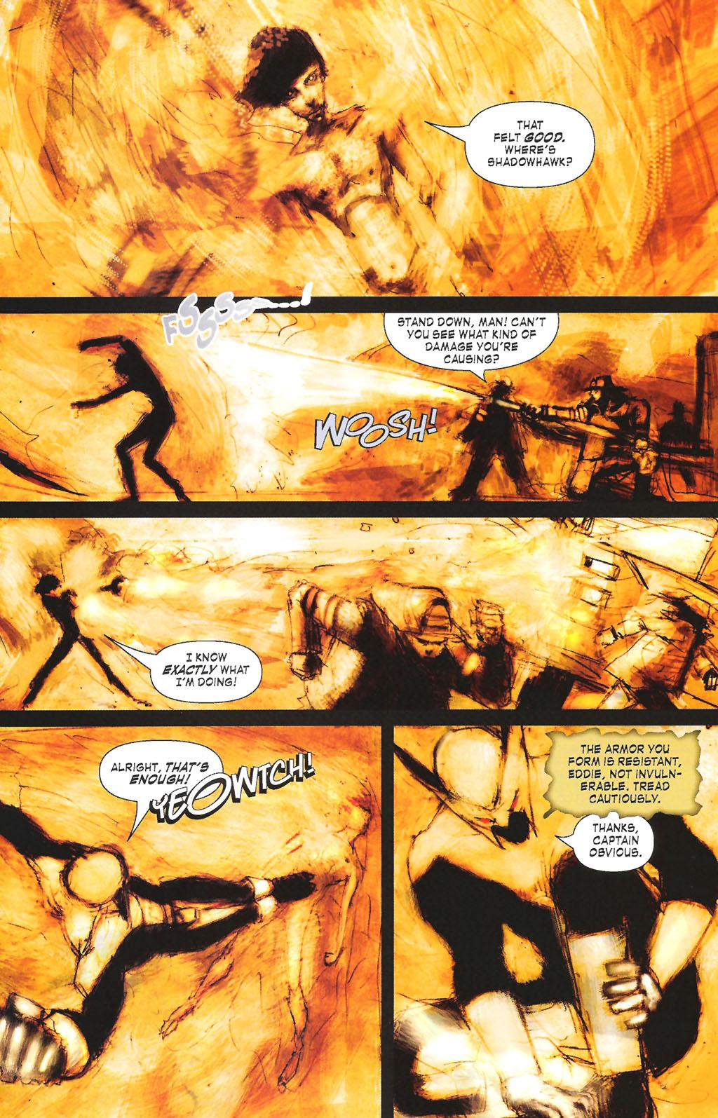 Read online ShadowHawk (2005) comic -  Issue #7 - 19