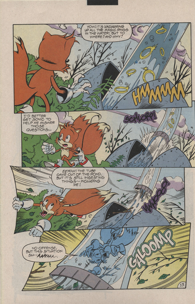 Read online Sonic Quest - The Death Egg Saga comic -  Issue #1 - 22