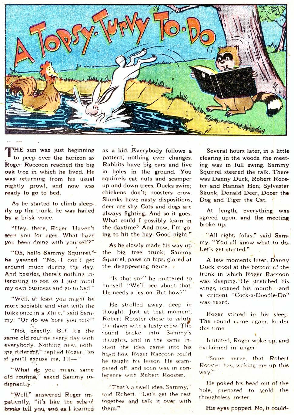 Read online Animal Antics comic -  Issue #11 - 36