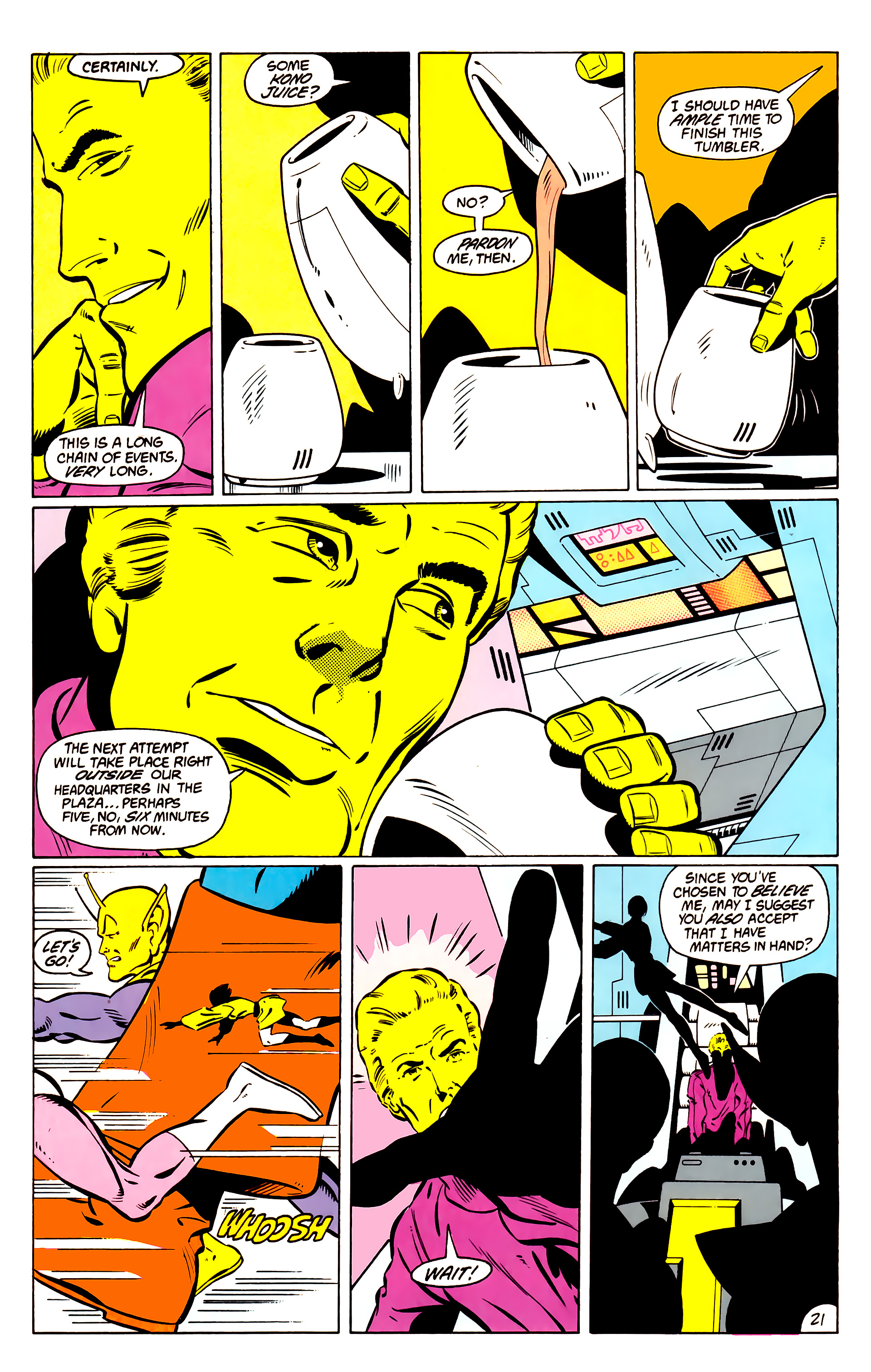 Legion of Super-Heroes (1984) _Annual_1 Page 22