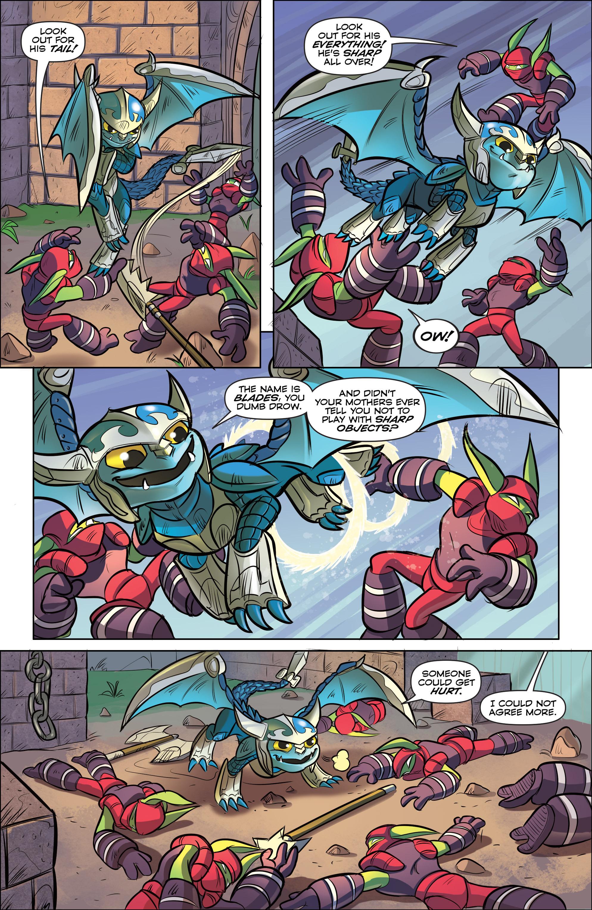 Read online Skylanders comic -  Issue #5 - 11