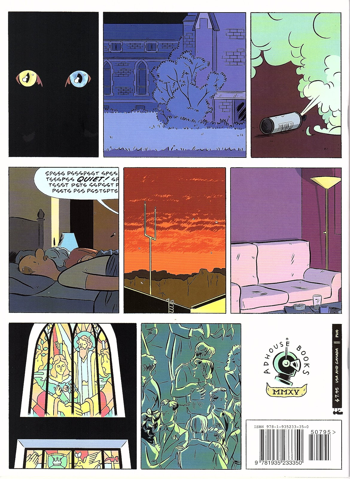 Read online Pope Hats comic -  Issue #4 - 36