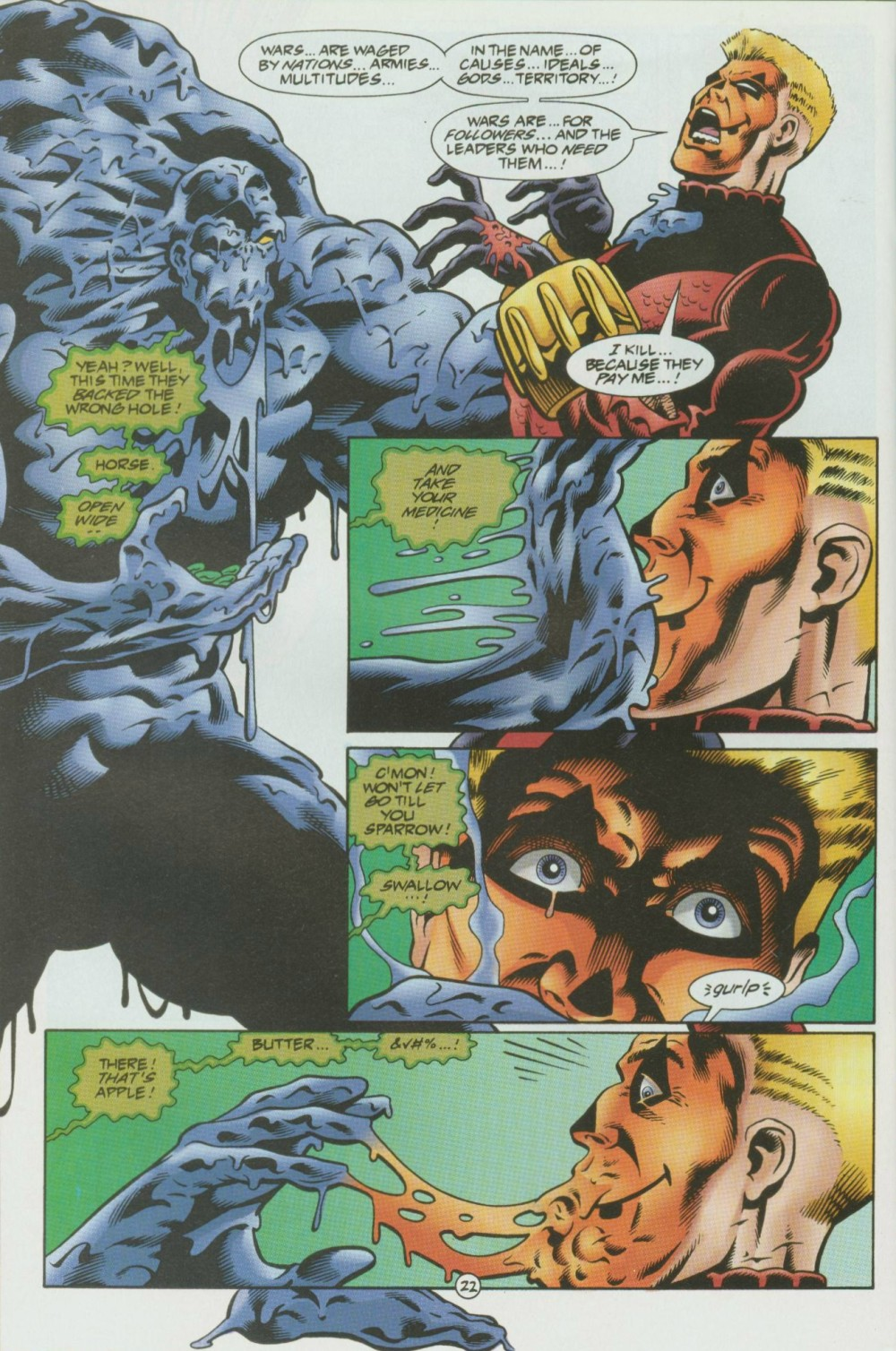 Read online Sludge comic -  Issue #8 - 23