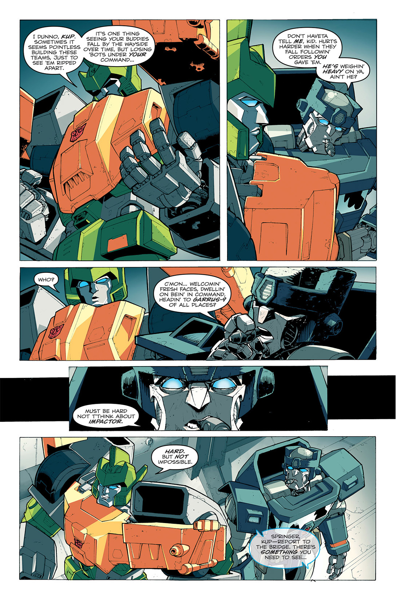 Read online Transformers: Last Stand of The Wreckers comic -  Issue #1 - 22