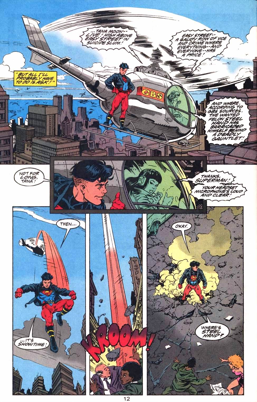 Read online Adventures of Superman (1987) comic -  Issue #501 - 15