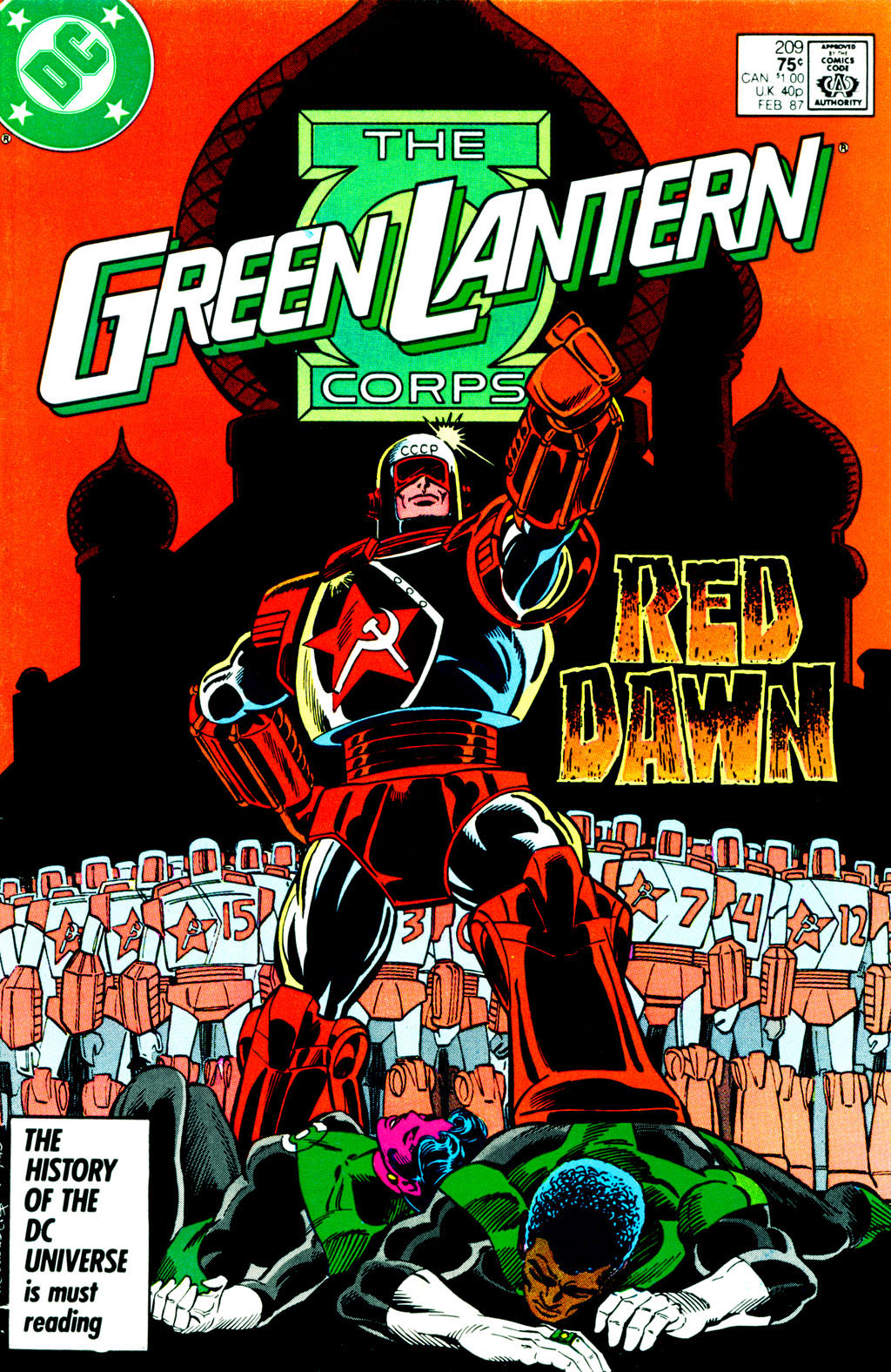 The Green Lantern Corps 209 Page 1