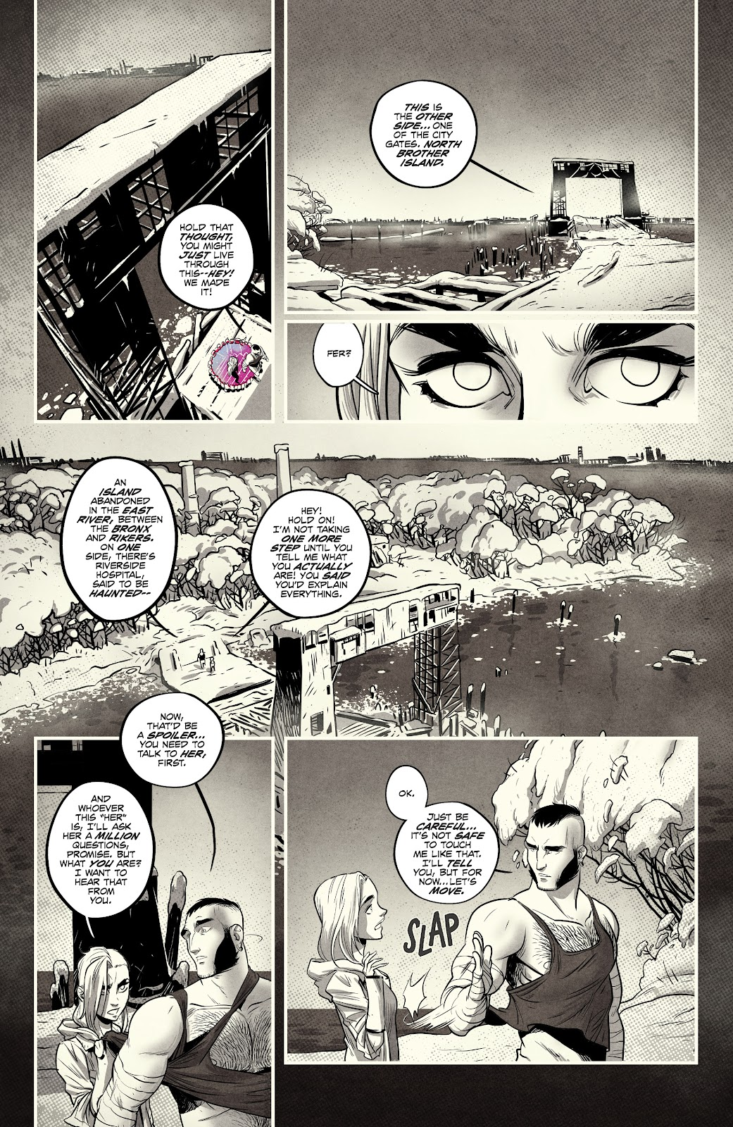 Read online Nomen Omen comic -  Issue #3 - 21