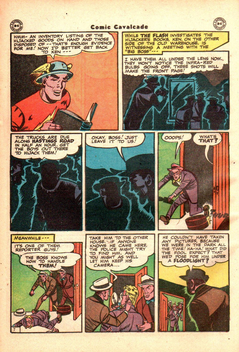 Comic Cavalcade issue 21 - Page 36