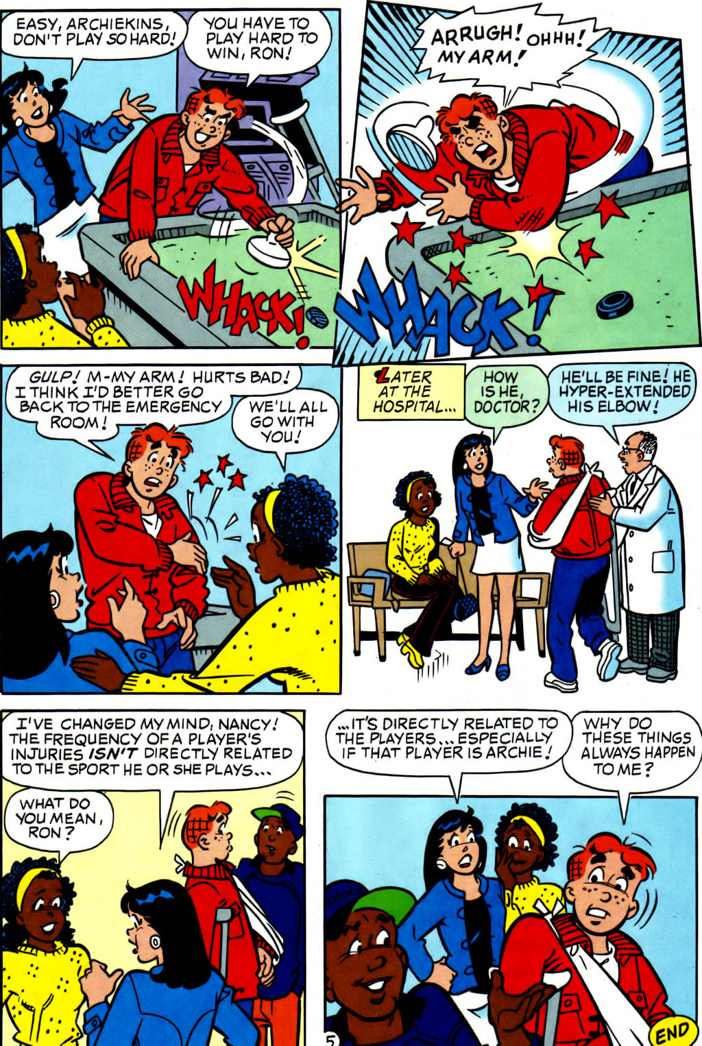 Read online Archie (1960) comic -  Issue #562 - 12