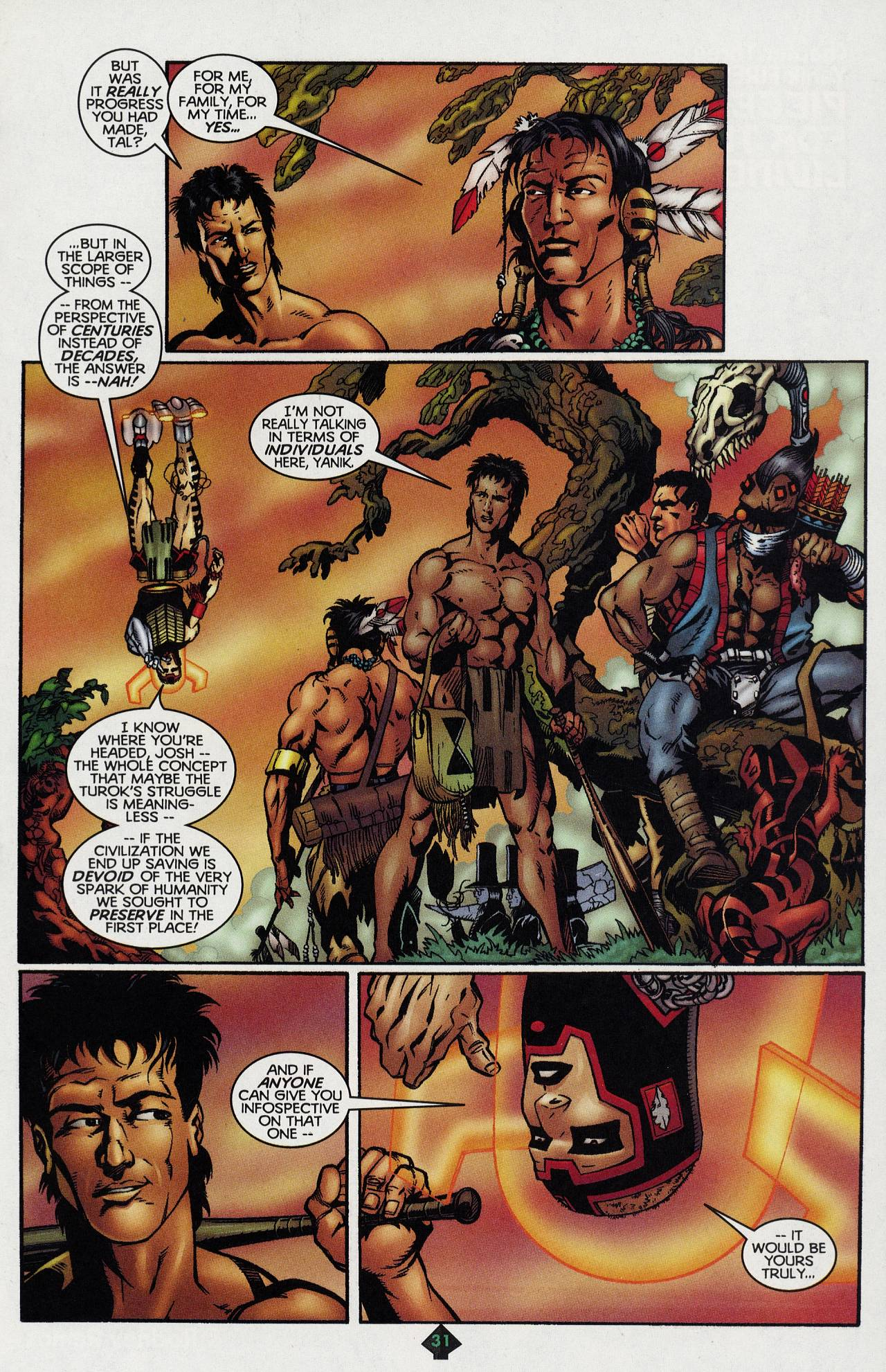 Read online Turok: Tales of the Lost Land comic -  Issue # Full - 28
