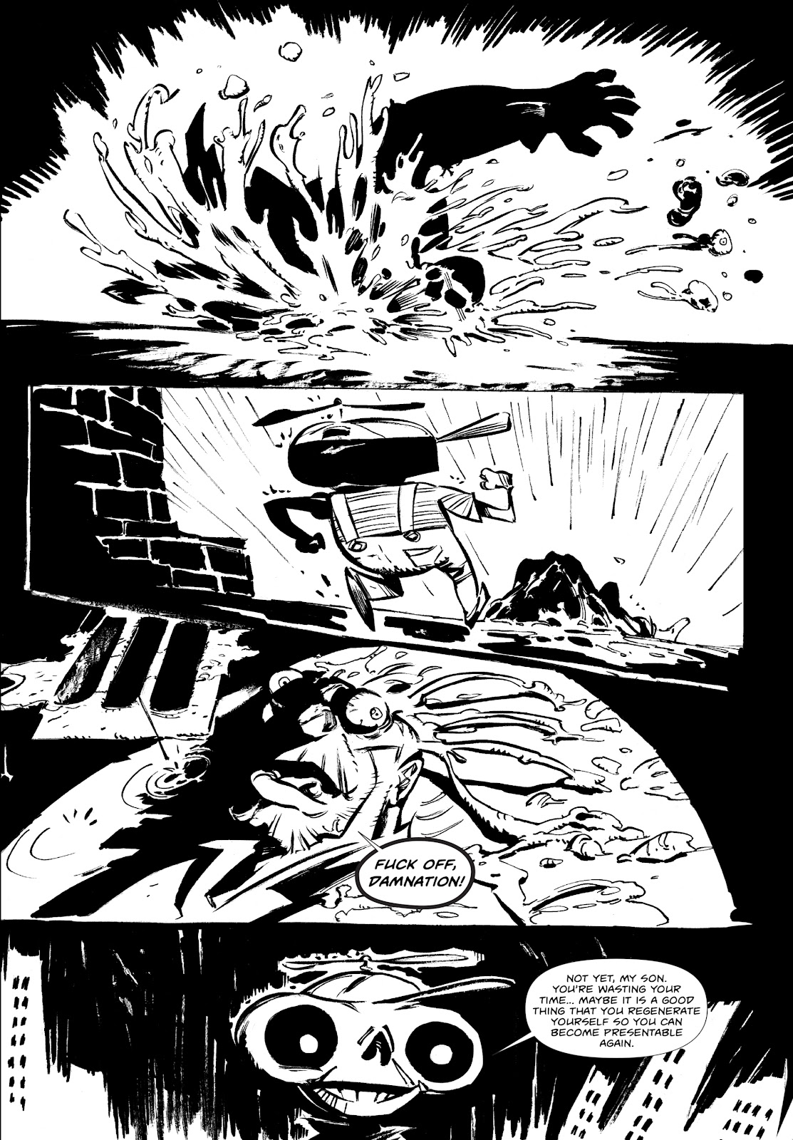 Read online Wrath of God comic -  Issue #2 - 21