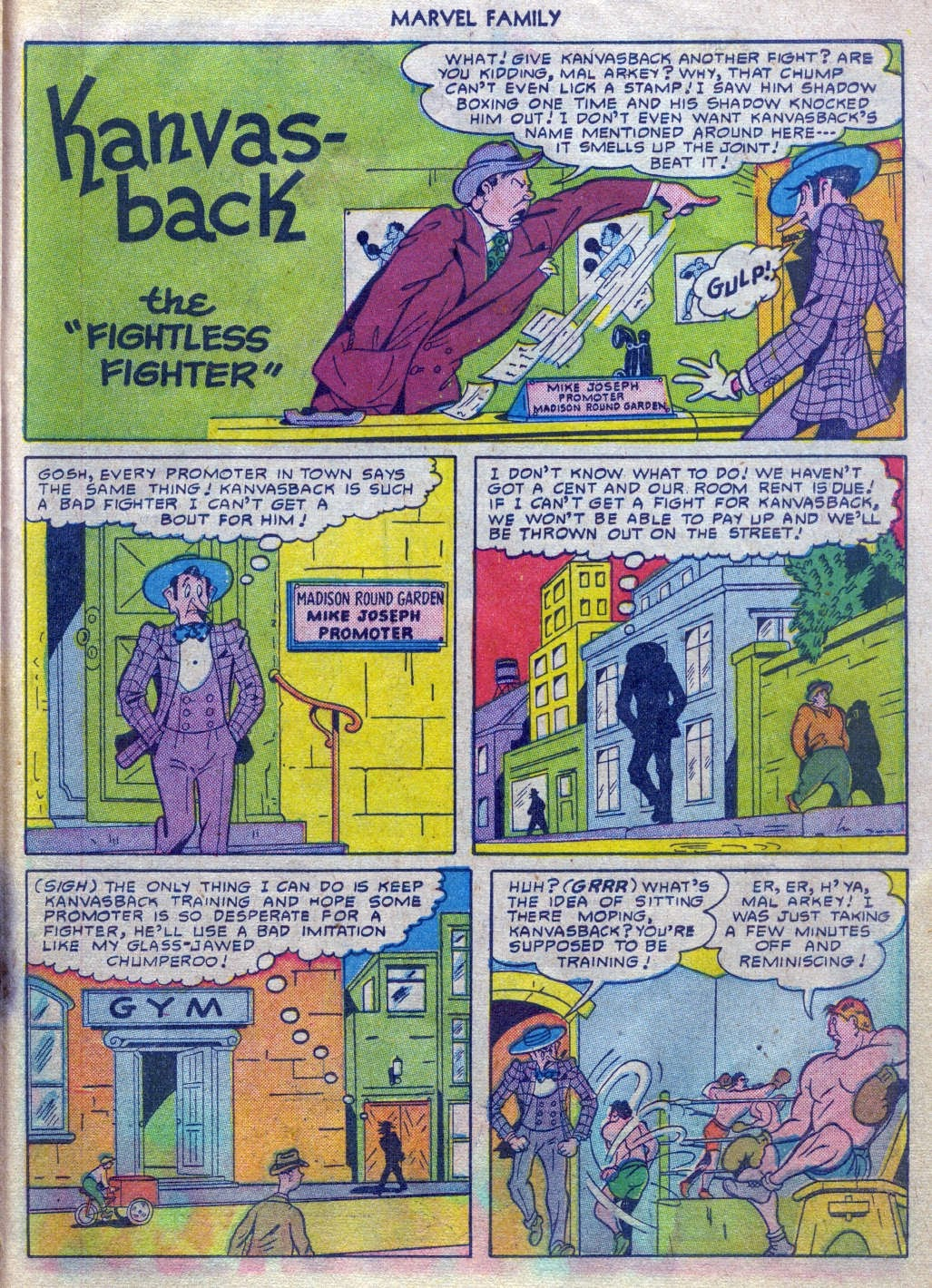 The Marvel Family issue 52 - Page 22