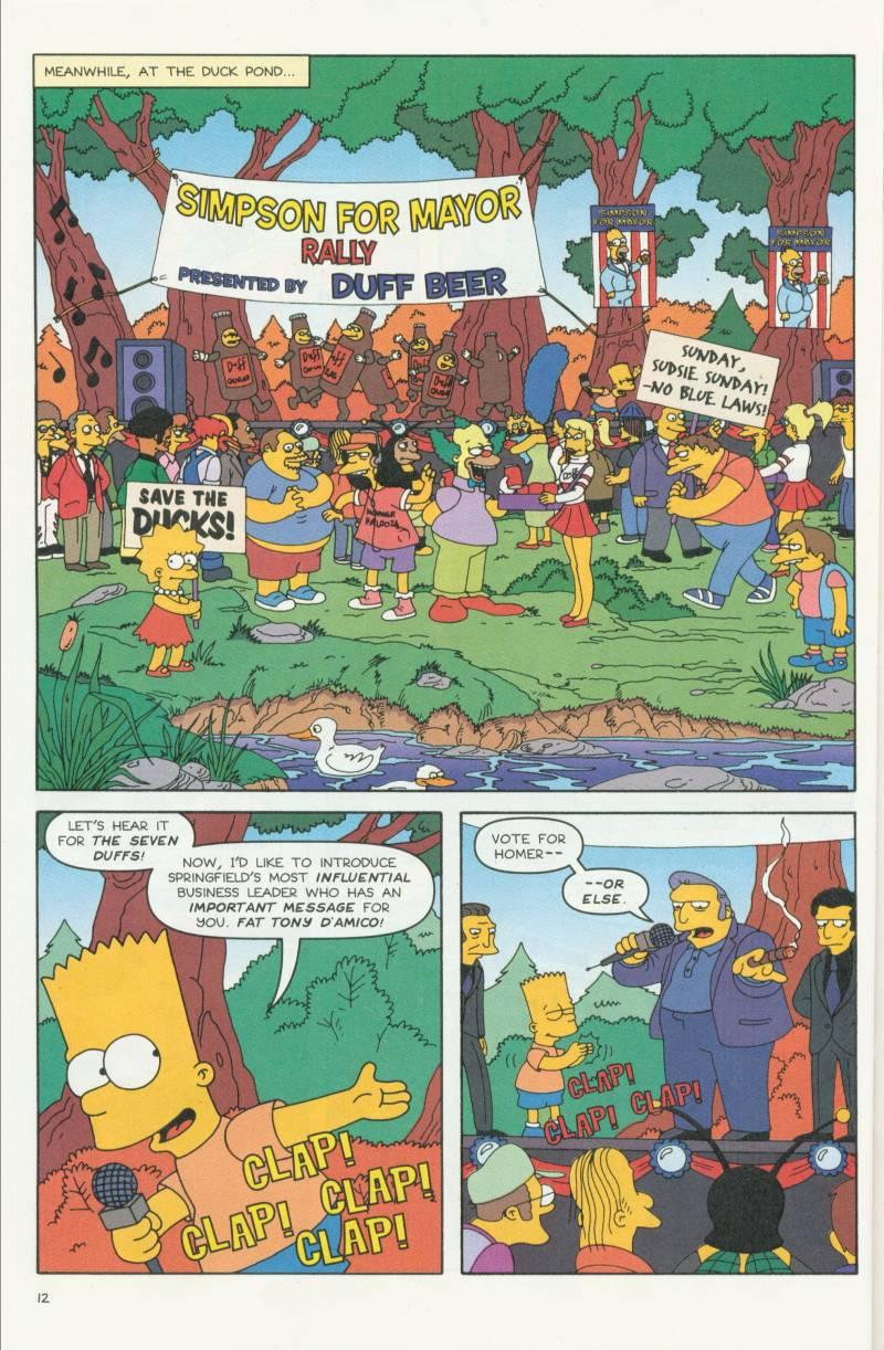 Read online Simpsons Comics comic -  Issue #58 - 13