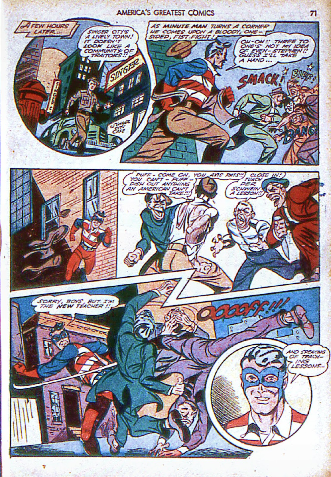 Americas Greatest Comics issue 6 - Page 72