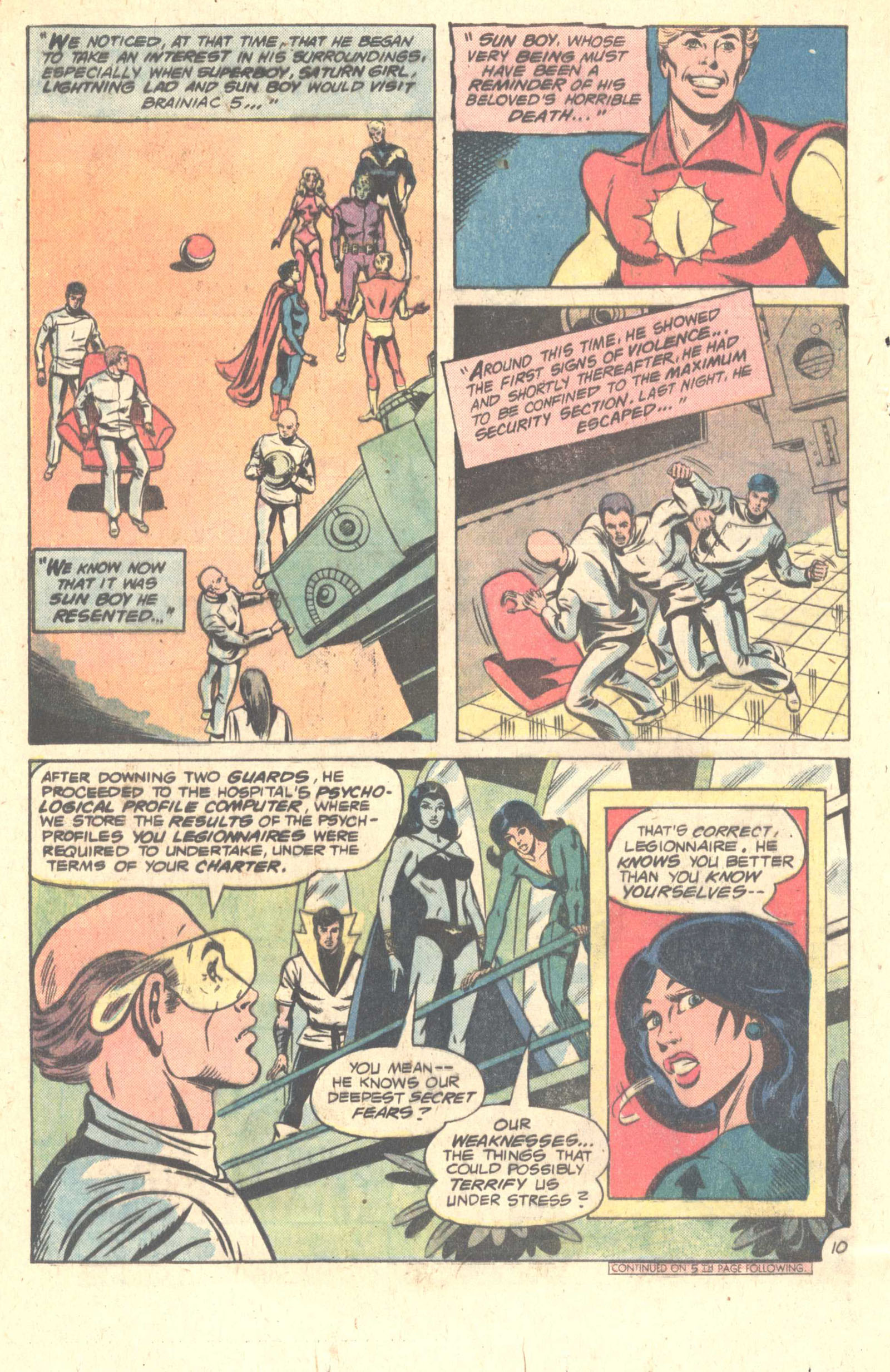 Legion of Super-Heroes (1980) 259 Page 15