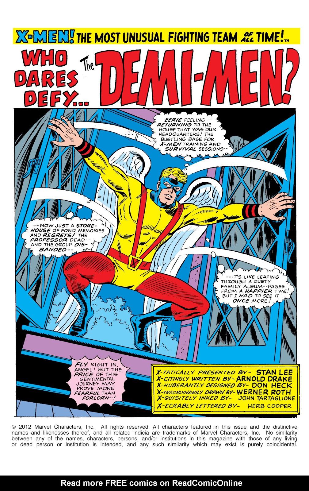 Uncanny X-Men (1963) issue 49 - Page 2