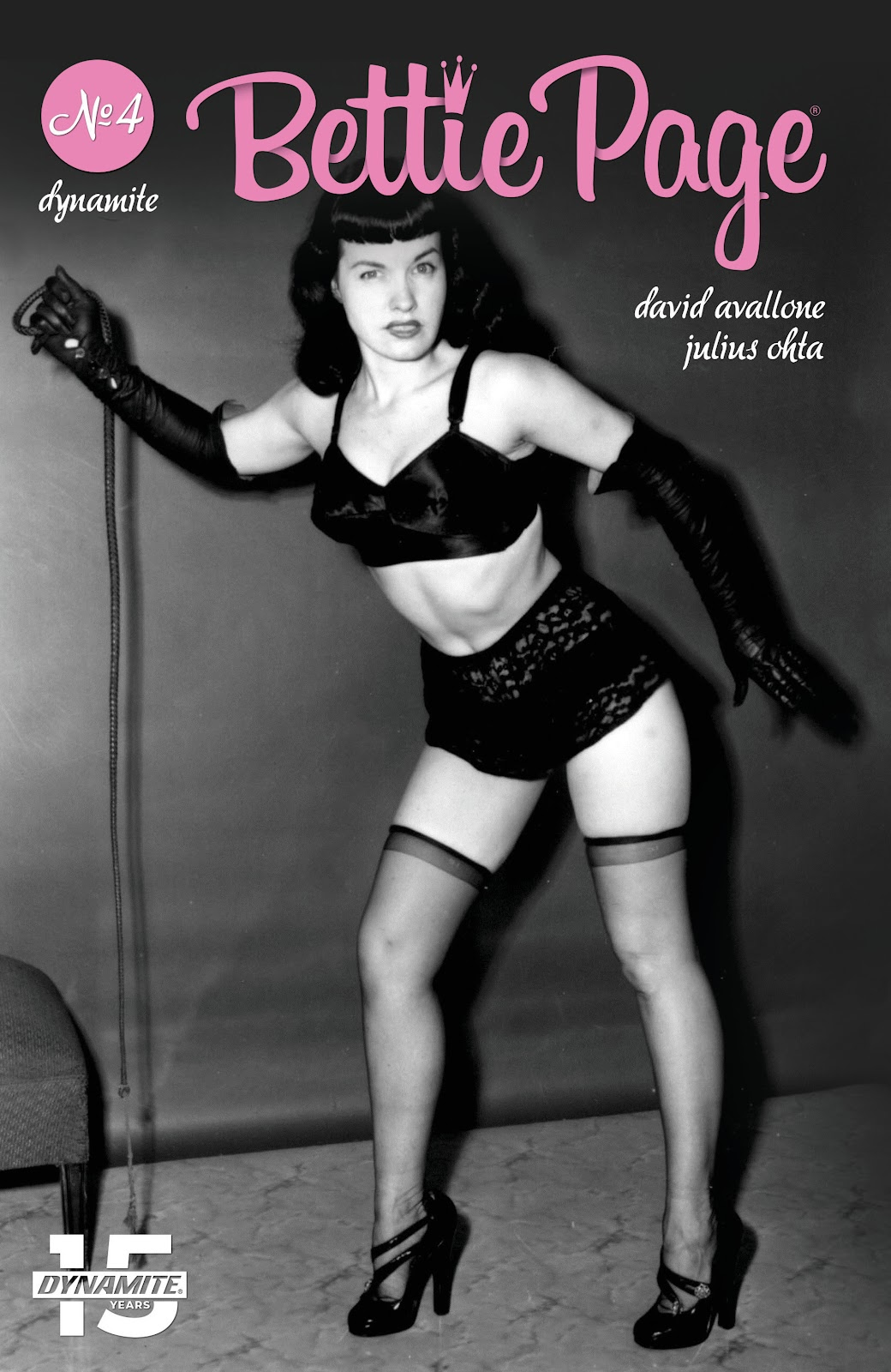 Read online Bettie Page (2018) comic -  Issue #4 - 5
