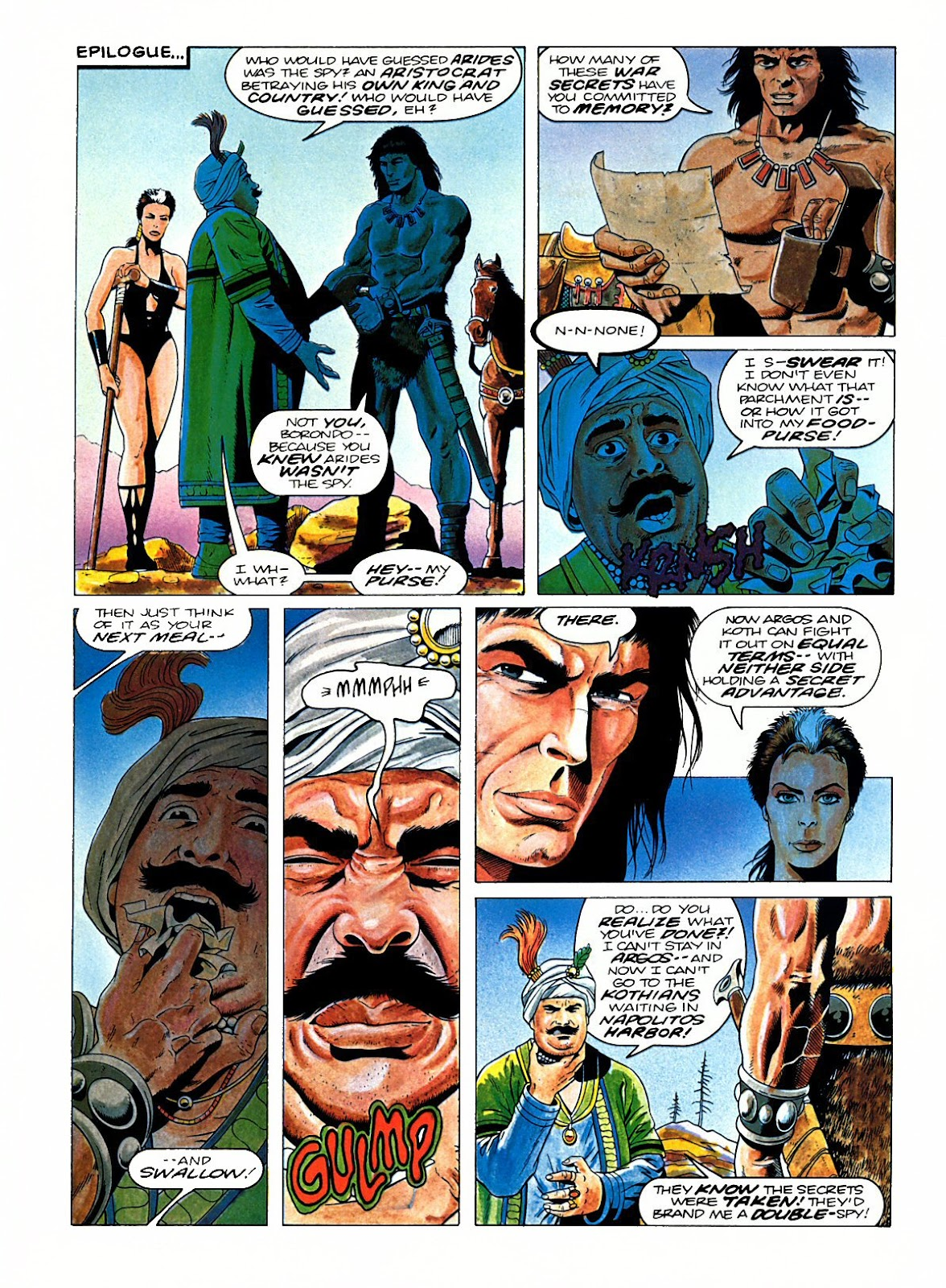 Read online Marvel Graphic Novel: Conan the Barbarian: The Skull of Set comic -  Issue # Full - 61