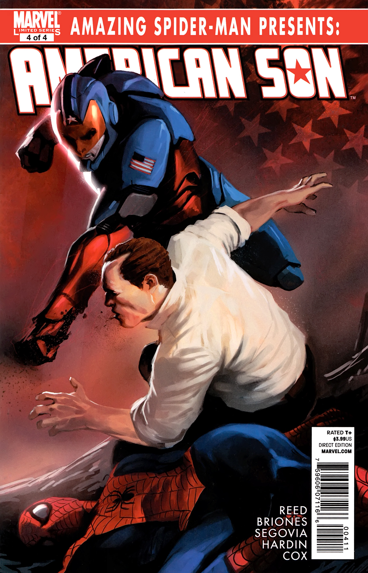 Read online Amazing Spider-Man Presents: American Son comic -  Issue #4 - 1